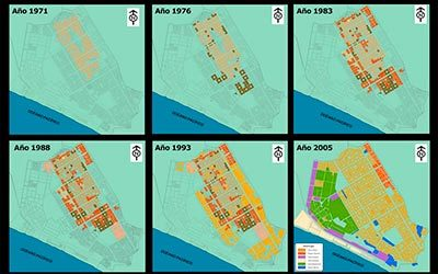 Crecimiento urbano en VES