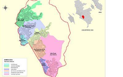 Mapa urbano de VMT