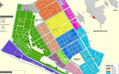Mapa urbano de VES