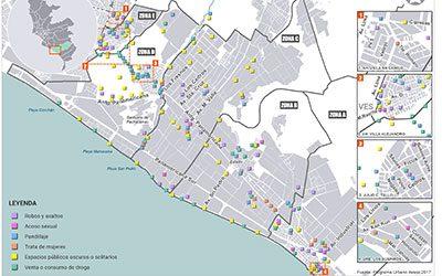 Mapas de seguridad ciudadana con enfoque de género 2017